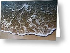 Beach At Grand Turk Ocean Beauty Greeting Card