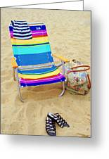 Beach Attire Greeting Card