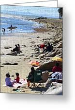 Beach Babies 2 Greeting Card