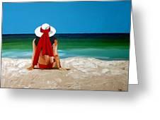 Beach Baby Greeting Card