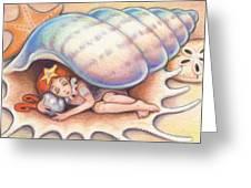 Beach Babys Treasure Greeting Card
