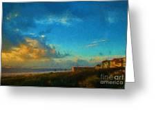 Beach Beauty  Greeting Card