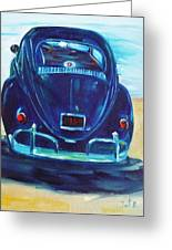 Beach Bug Greeting Card