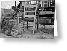 Beach Chair Greeting Card