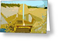 Beach Chair Work Number 3 Greeting Card