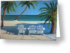 Beach Chairs No. 1 Greeting Card