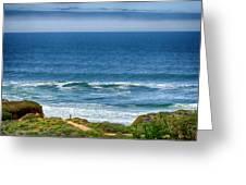 Beach Cloud Streak Greeting Card