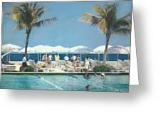 Beach Club Greeting Card