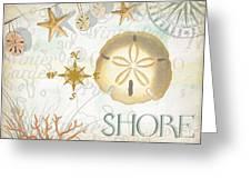 Beach Collage D Greeting Card