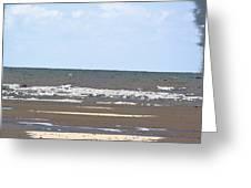 Beach Comic Strip Greeting Card