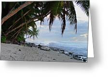 Beach Corner Greeting Card