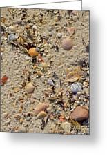 Beach Deposit Greeting Card