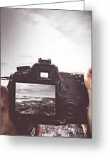 Beach Digital Photography Greeting Card