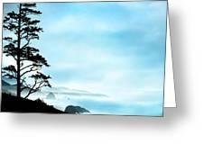 Beach Dreams On The Oregon Coast Greeting Card