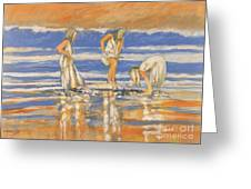 Beach Friends Greeting Card