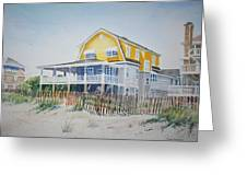 Beach Front At Wrightsville Beach Greeting Card