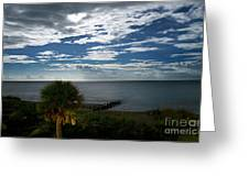 Beach Front Property Greeting Card