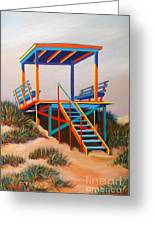 Beach Gate Greeting Card