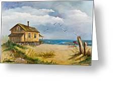 Beach Getaway Greeting Card