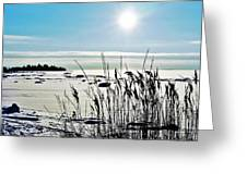 Beach Glow Greeting Card