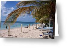 Beach Grand Turk Greeting Card