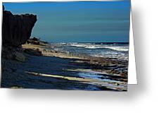 Beach Hutchinson Island, Fl Greeting Card