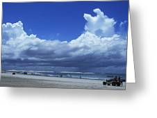 Beach In Brazil Greeting Card
