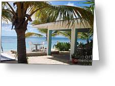 Beach In Grand Turk Greeting Card