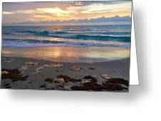 Beach Layers Greeting Card