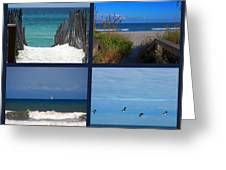 Beach Multiples Greeting Card