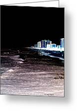 Beach Night Greeting Card