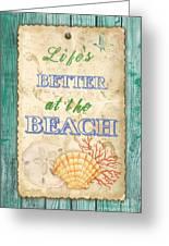 Beach Notes-jp3761 Greeting Card