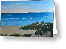 Beach On The North Coast Of Nsw  Greeting Card