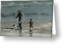 Beach Outing Greeting Card
