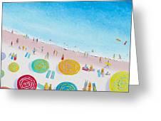 Beach Painting - Beach Bliss Greeting Card