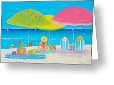 Beach Painting - Beach Life Greeting Card