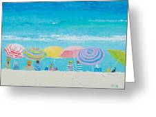 Beach Painting - Color Of Summer Greeting Card