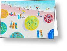 Beach Painting - Lazy Lingering Days Greeting Card