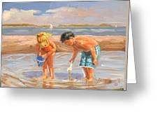 Beach Pals Greeting Card