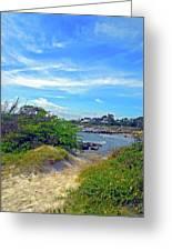 Beach Path Wisdom Greeting Card