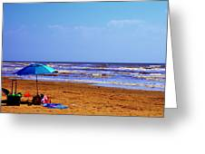 Beach Picnic Greeting Card