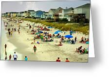 Beach Play Greeting Card