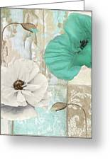 Beach Poppies Iv Greeting Card