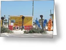Beach Rentals Greeting Card