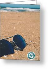 Beach Retro Greeting Card