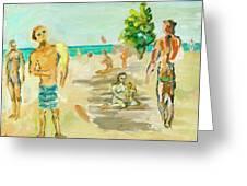 Beach Scence Greeting Card