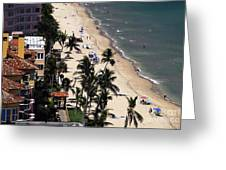 Beach Scene Greeting Card