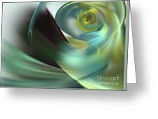 Beach Spiral Greeting Card