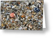 Beach Stones Greeting Card