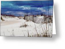 Beach Storm Greeting Card